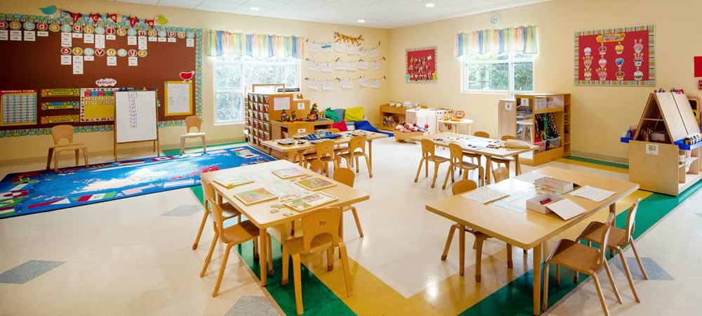 Trace Crossings — Preschool Classroom